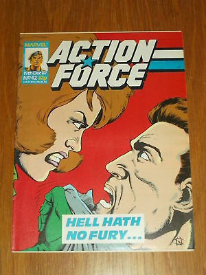 Action Force #42 19Th December 1987 Marvel British Weekly Comic