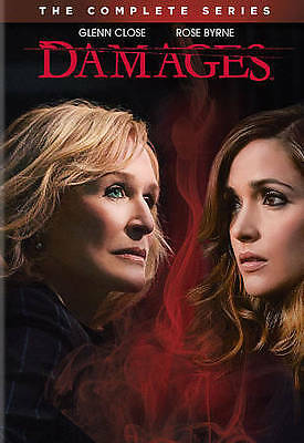 Damages: The Complete Series (DVD, 2013, 15-Disc Set) BRAND NEW IN BOX