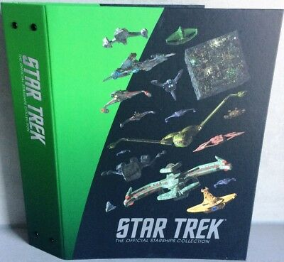 STAR TREK Official Starships Fremde Völker A4 Ordner Eaglemoss NEU & OVP