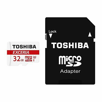 32GB SDHC TOSHIBA EXCERIA M302 UHS-III Micro SD Memory Card 90MBs with Adapter
