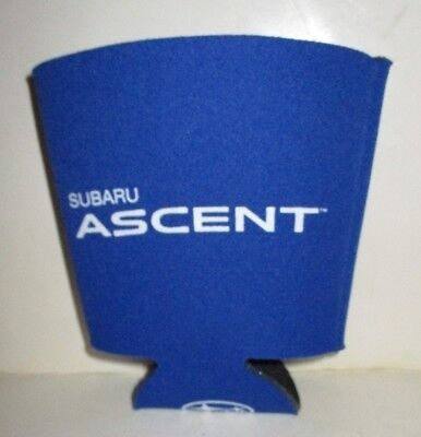 Subaru Ascent Auto Car Wide Cup Holder Absorbent Foam Can Bottle Coozie Blue