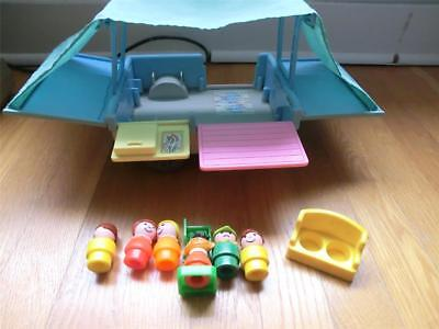 Fisher Price Camper With People ++ 1997 Euc ~~L@@k~~