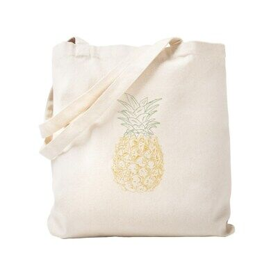 a7c48eb2c694 CafePress Pineapple Natural Canvas Tote Bag, Cloth Shopping Bag (848697244)