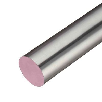 303 BSQ Stainless Steel Round Rod, Diameter: 0.500 (1/2 inch), Length: 23 inches