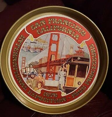 San Francisco Serving Tray Food 1979 Processors International Expo California