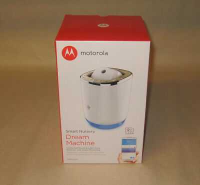 NEW Motorola Smart Nursery Dream Machine Connected Sound & Light Show Projector