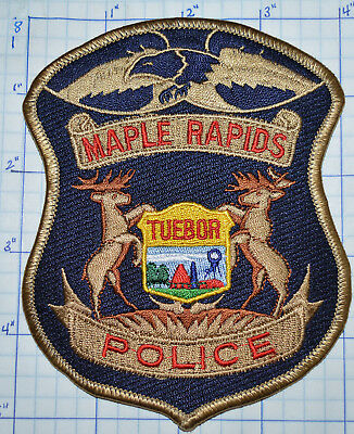 Michigan, Maple Rapids Police Dept Patch