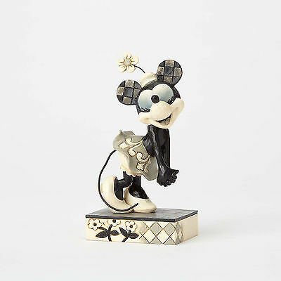 Disney Traditions Jim Shore Minnie Mouse Get a Horse Good-hearted Gal Figurine