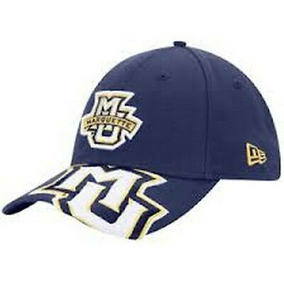 0fb9376b07c Marquette Golden Eagles 39Thirty fitted hat New Era NCAA MU new with  stickers