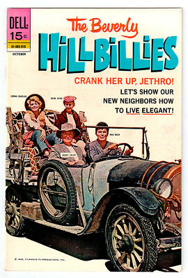 THE BEVERLY HILLBILLIES #20 in NEAR MINT condition a DELL comic TV photo cover