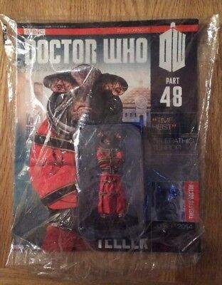 New & Sealed - BBC Doctor Dr. Who Figurine Collection #48 Teller (2014)