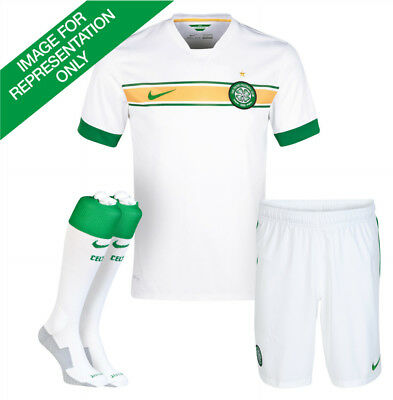 Nike Celtic 3rd 2014/15 Mini Kit - White