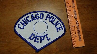 Vintage  Chicago Police Department Police Officer    Obsolete Patch Bx W 9