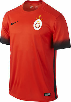 Nike Galatasaray Third 2015/16 Mens Football Shirt - Red