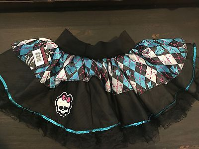 Monster High Draculaura Dress Up Petti Skirt Costume Nwt New 6 7 8 9 10