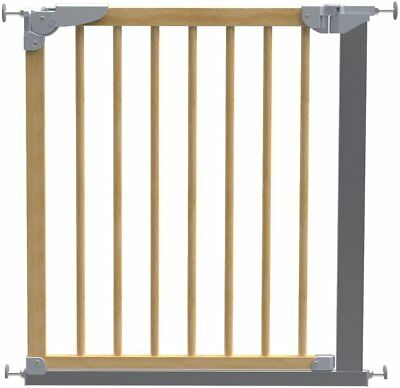 BabyDan Designer Pressure Fit Safety Door Gate - Beech.