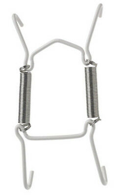 White Plate Hanging Wire / Plate Hanger Available In 3 Sizes