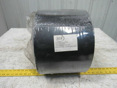 "BDI BD764AS 2 Ply .082"" Smooth Top Black Nylon Backed Conveyor Belt 9"" X 120'"