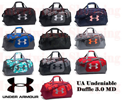b706902daf Under Armour Undeniable 1300213 Duffle 3.0 Medium UA Storm Sports Gym Bag  Tough