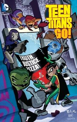 Teen Titans Go Truth Justice Pizza TP (Paperback), Nauck, Todd, B...