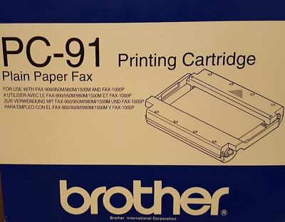 FACTORY SEALED  Brother-PC-91-Printing-Cartridge-for-Plain-Paper-Fax-034