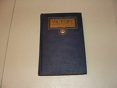1927 VICTORY An Island Tale Book by Joseph Conrad Antique or Vintage Rare <<<