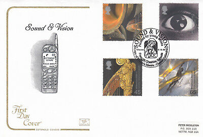 (15742) GB Cotswold FDC Christmas Spirit & Faith Cheshire Schools 7 Nov 2000