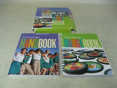 Collectible Girl Scout Junior Hand Book And Badge Book Book