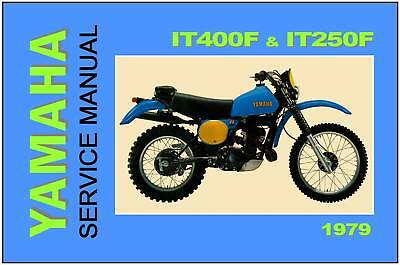 YAMAHA Workshop Manual IT400 and IT250 1979 VMX Service and Repair IT400F IT250F