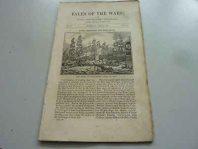 1837 NAVAL & MILITARY CHRONICLE No 74 LORD BRIDPORT OFF ISLE-GROIX & THE SULIOT