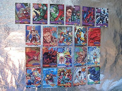 OVERPOWER Mission 21 CARDS Anxiety Carnage Infestation Sins Fatal  Apocalypse