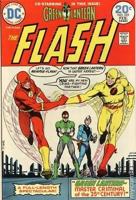 Flash (1st Series DC) #225 1974 VG- 3.5 Stock Image Low Grade