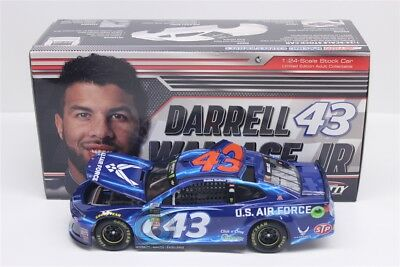 2018 DARRELL WALLACE JR  BUBBA #43 Air Force 1:24 Diecast 949 Made Free Shipping