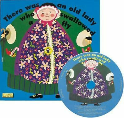 NEW There Was an Old Lady Who Swallowed a Fly By Pam Adams Paperback