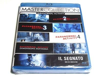 Paranormal Activity Blu-Ray Collection 2 3 4 The Marked Ones Ghost Dimension New