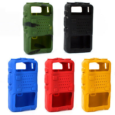 Walkie Talkie Soft Case Silicone Holster Cover for Baofeng UV-5R UV-985 Radio