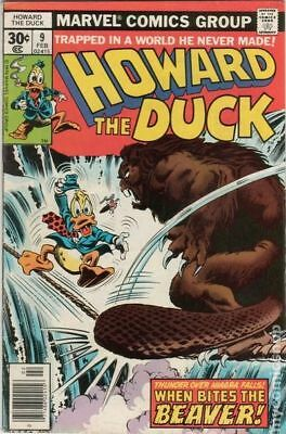 Howard the Duck (1st Series) #9 1977 FN Stock Image