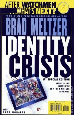 Identity Crisis Special Edition #1 2009 VF Stock Image