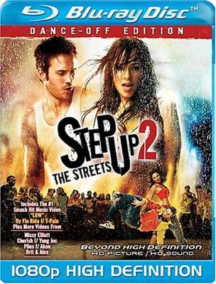 Step Up 2 the Streets (Blu-ray Disc, 2008, Dance Off Edition) NEW