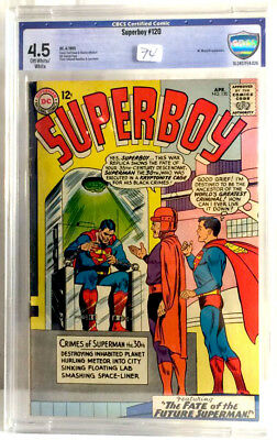 SUPERBOY #120 in CBCS 4.5 condition a DC silver age comic SUPERMAN