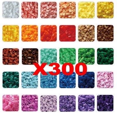 300PCS Perler Hama 5mm Beads Refill Pack Crafts DIY Toy For Kids New
