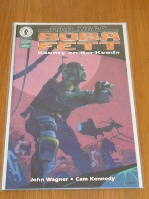 Star Wars Boba Fett Bounty On Bar-Kooda Dark Horse December 1995 High Grade Copy