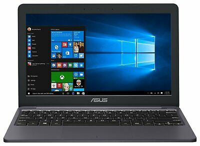 ASUS E203 11.6 Inch Celeron N4000 2.6 GHz 4GB 32GB eMMC Windows 10 Laptop - Grey