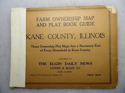1920'S KANE COUNTY Illinois Farm Plat Book Map & Plat Guide by Elgin on map of lake county il, map of gallatin county il, map of henderson county il, map of st. clair county il, map of rock island county il, map of jo daviess county il, map of franklin county il, map of jersey county il, map of union county il, map of dupage county il, map of jasper county il, map of mcdonough county il, map of stephenson county il, map of cook county il, towns in kane county il, map of schuyler county il, map of woodford county il, map of richland county il, map of bond county il, map of stark county il,