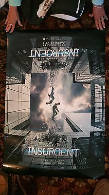 """Divergent Insurgent - 27"""" x 40"""" two-sided Promotional Theater Poster"""