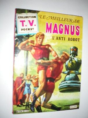 Collection TV pocket - Le meilleur de MAGNUS l'anti-robot - Russ MANNING -