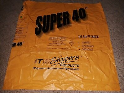 Dunnage bags. Great quality.Super 40 inflatable vinyl shipping bags