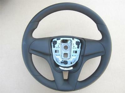 OEM Chevy Sonic Steering Wheel Vinyl Black with Cruise Control Buttons
