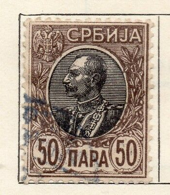 Serbia 1904-05 Early Issue Fine Used 50pa. 265407