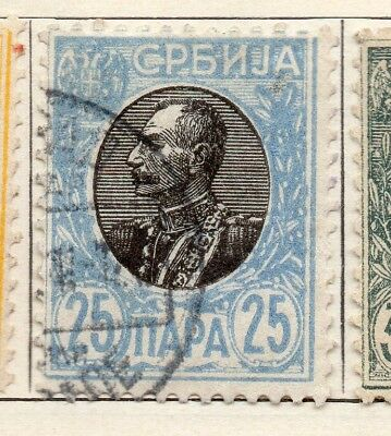 Serbia 1904-05 Early Issue Fine Used 25pa. 265405